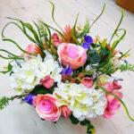סידור פרחים שולחני